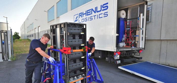 Rhenus Midi Data opens a new branch in Hanover- Anderten.