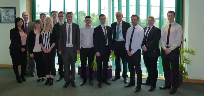 Davies Turner takes on more apprentices.