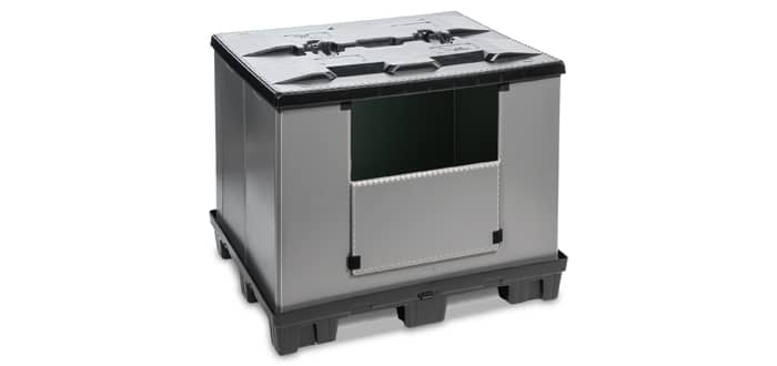 Goplasticpallets.com launches best in class collapsible pallet box.