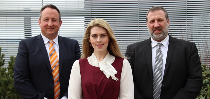 Three's a charm: DB Cargo UK welcomes new sales colleagues to support development in growing sectors.