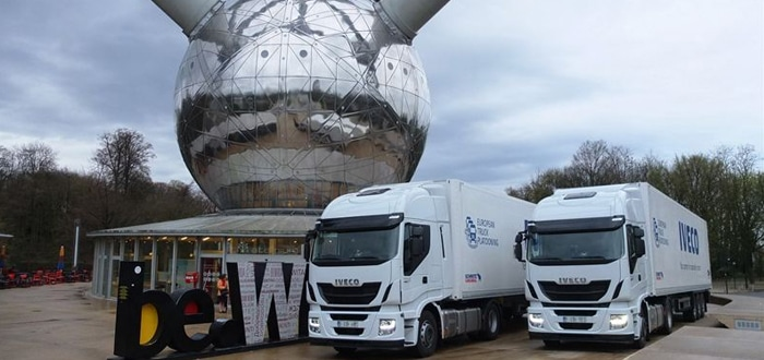 Iveco to participate in world's first Truck Platooning Challenge.