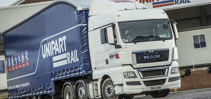 Bibby Distribution takes the freight off Unipart's Rail's mind with new triple deck trailers.