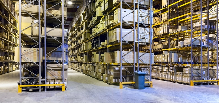 image of inside a warehouse