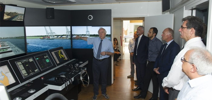 Bernhard Schulte Shipmanagement enhances training hub in Cyprus with installation of Full Mission Bridge and Engine Room Simulators.