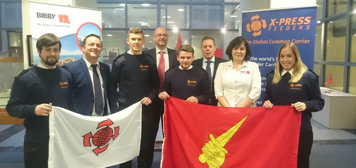 Liverpool shipping industry inspires next generation of seafarers.