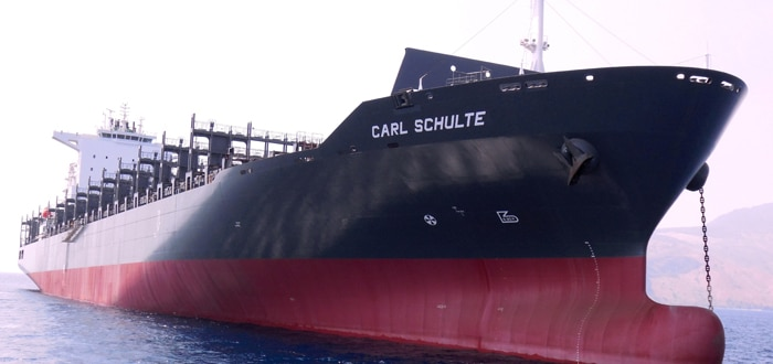 MV Carl Schulte outperforms in meeting the most stringent environmental standards.