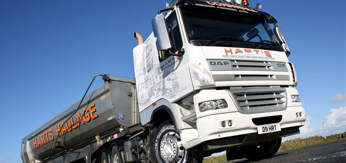 Michelin tyres deliver cost-efficiency to Hart's content.