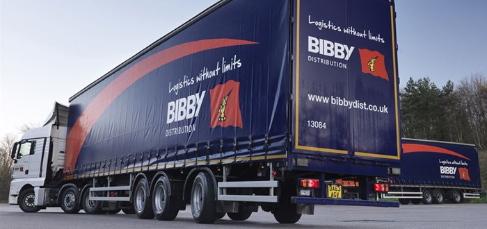Bibby Distribution's carbon footprint shrinks for third year running.
