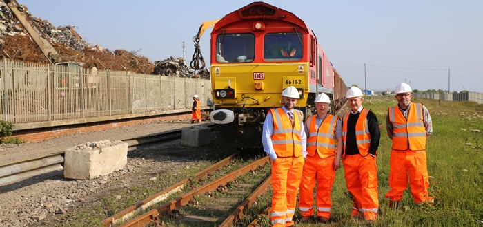 Platform for success: Ward Bros chooses DB Cargo UK for first ever rail freight service.