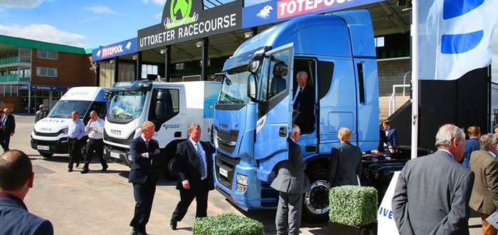 Iveco showcases Natural Power technology to major UK fleets.