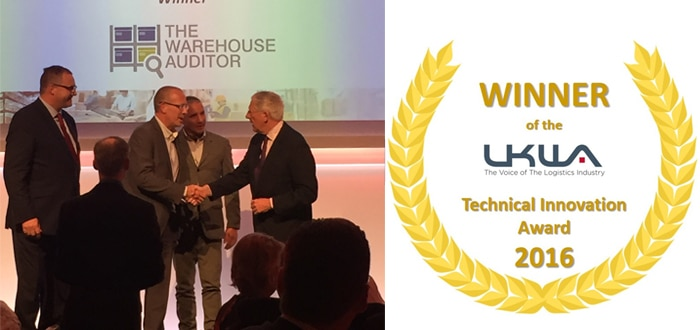 The Warehouse Auditor wins at UKWA Awards.