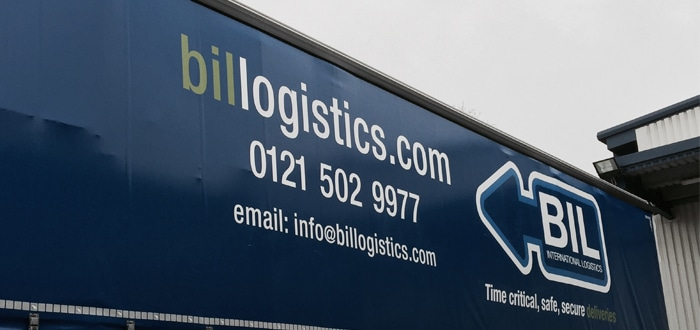 Greater visibility and time savings – just some of the benefits BIL Logistics' have gained as Mandata TMS goes live.