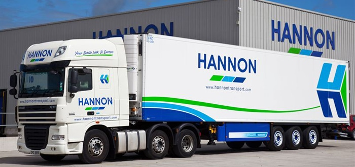 Hannon transport takes on 40 Schmitz Cargobull reefers with Telematics.