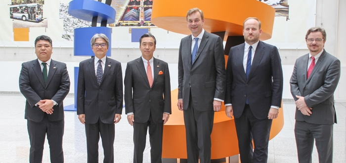 Rhenus and Sankyo set up joint venture in Japan.