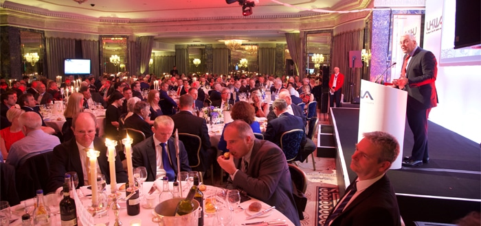 UKWA guests dig deep for Transaid.