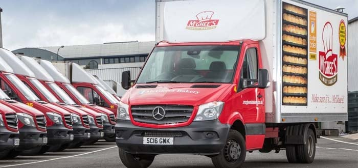 McGhee's Bakery is on a roll with Mercedes-Benz vans.