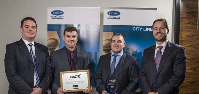 Carrier Transicold Northwest Named Network Service Partner of the Year 2016.