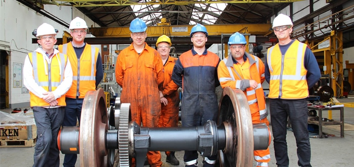 Wheely Good: DB Cargo UK introduces new wheel shop services at Toton and Stoke.