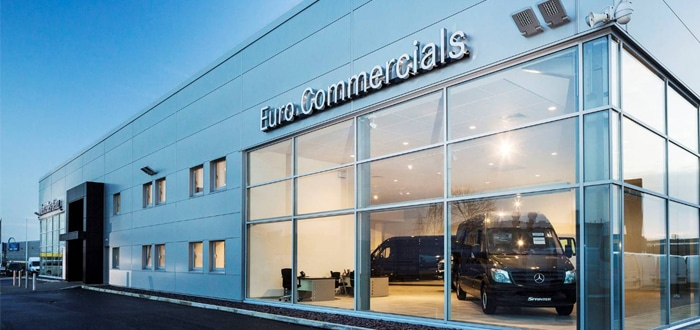 Euro Commercials wins Mercedes-Benz Van ProCenter status.