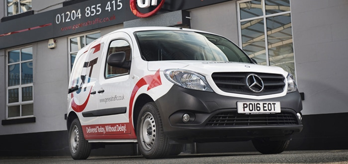 General Traffic orders Mercedes-Benz Citans into the front line.
