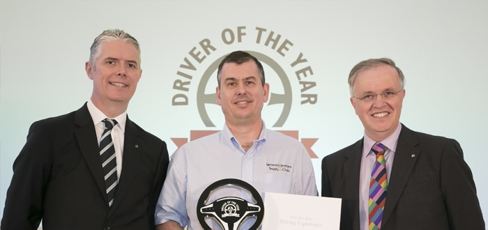 Matthew Pickering named FTA Driver of the Year 2016.