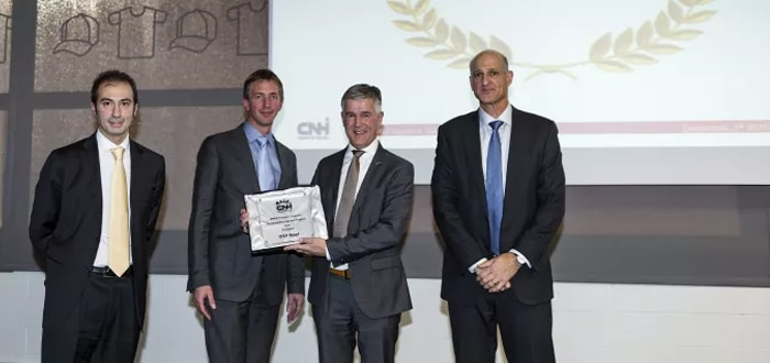 CNH Sustainability Logistics Supplier of the year.
