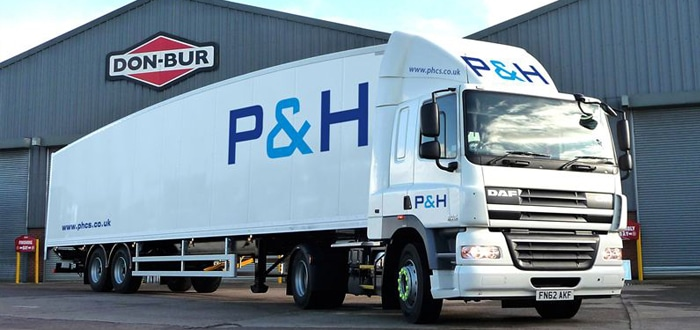 EFFITRAILER™ system a perfect fit for fashion logistics specialist P&H Contract Services.