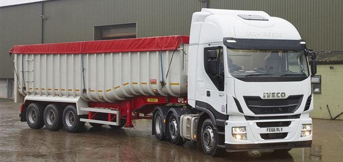 IVECO secures conquest heavy truck order from John Pointon & Sons.