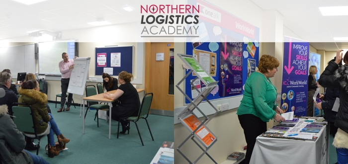 Northern Logistics Academy and Partners Host Successful Careers Event.