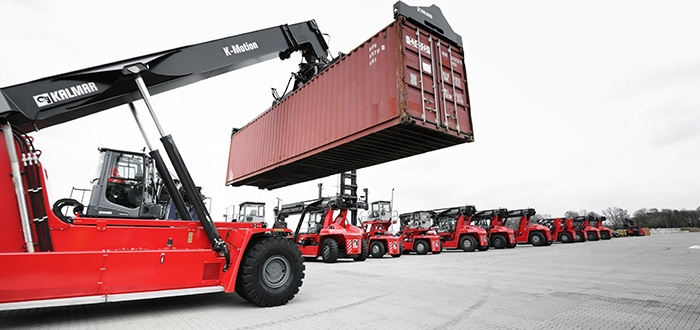 Kalmar to deliver a large fleet of container handling machines to DP World Australia.