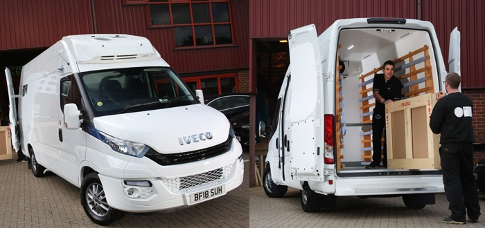 Mtec becomes first UK operator to take on one of IVECO's award-winning LCV range.