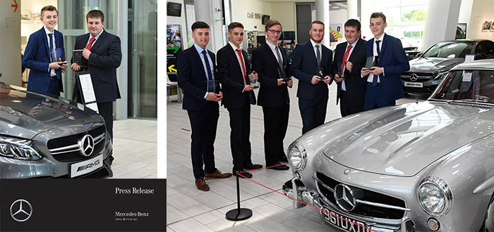Mercedes-Benz Honours Its Brightest And Best Commercial Vehicle Apprentices.