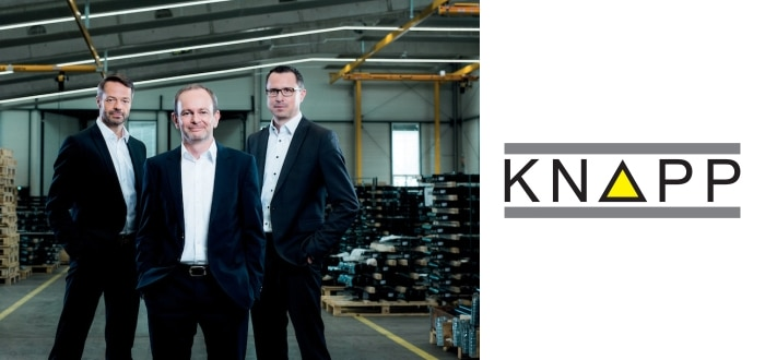 KNAPP Reveals Most Successful Business Year In Its 65-Year History.