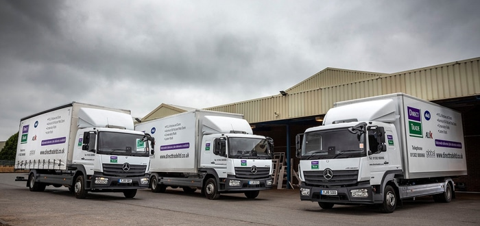 Economical Mercedes-Benz Atego Is A Clear Winner For Direct Trade.