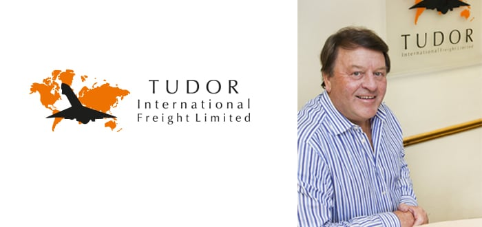 Tudor freight logo and David Johnson
