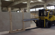 Marble Handled With Care By HYSTER® Lift Trucks.