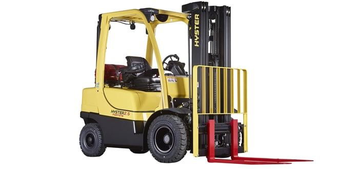 Image of a Hyster lift truck