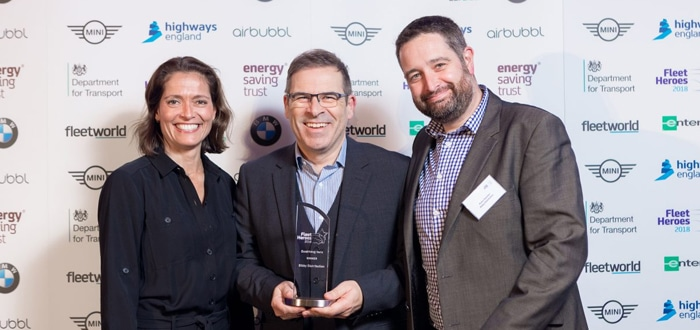 Bibby Distribution Does The Double At Energy Saving Fleet Heroes Awards.