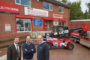 Buildbase Support Royal British Legion With Union Jack Teletruk.