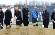Ground Breaking Ceremony For New Logistics Centre In Steyr, Austria.