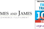 Fast Track 100 Ranks James And James Fulfilment Among Britain's Fastest Growing Private Companies.