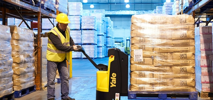 Quiet And Precise: New Yale Pallet Truck Solutions.