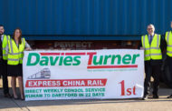 Davies Turner Restructures Express China Rail Service Operation, Improves Reliability And Reduces Costs.