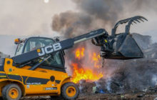 JCB's Teletruk Joins The Front Line At Staffordshire Fire And Rescue.