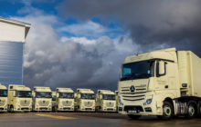 Samworth Brothers Enters 2019 With Breakthrough Fleet Of 18 Mercedes-Benz Actros.