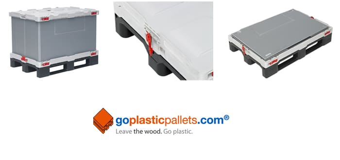 Goplasticpallets.com Launches New Improved Multi-Trip Pallet Box.