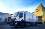 Iveco Stralis Methane Trucks Make Transgourmet Food Transport More Environmentally-Friendly.
