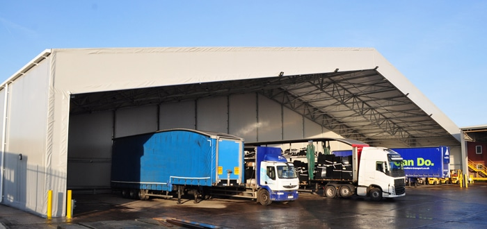 Custom Designed Vehicle Loading Bay Supports Growth And Efficiency.