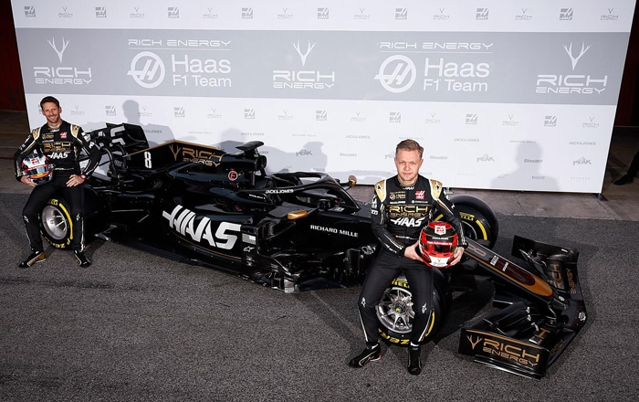 Walker Working To Help Formula One Sponsor Rich Energy Overtake Other Energy Drink Brands.