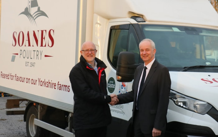 East Yorkshire Poultry Business Invests In Paneltex For Latest Fleet Vehicle.